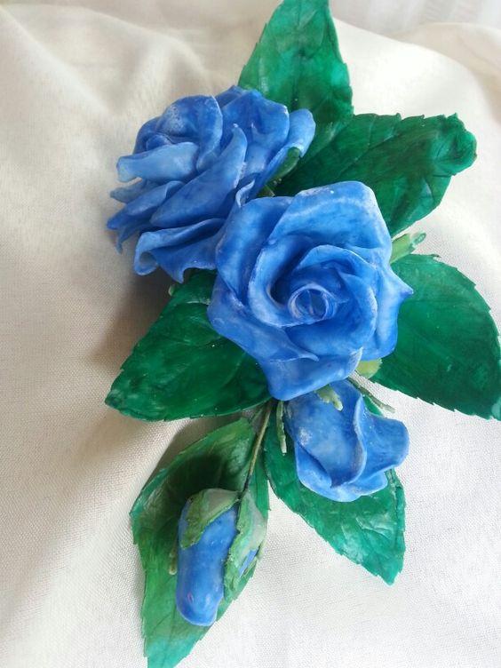 El Clasico Azulino Veteado...Para Eventos y Deco ..