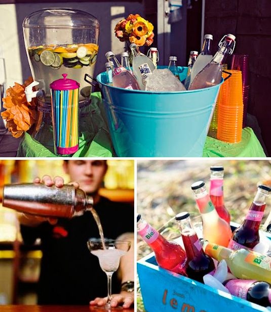 Bebidas sin alcohol para tu fiesta de 15 bebidas for Adornos para cocteles