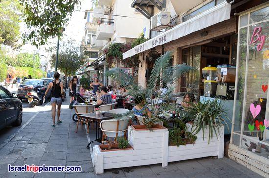 Shenkin Street, Tel Aviv, Israel