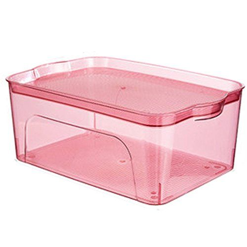 Zddab Household Transparent Storage Box Plastic Storage Box With Lid Stackable Storage Containe Plastic Box Storage Storage Boxes With Lids Stackable Storage
