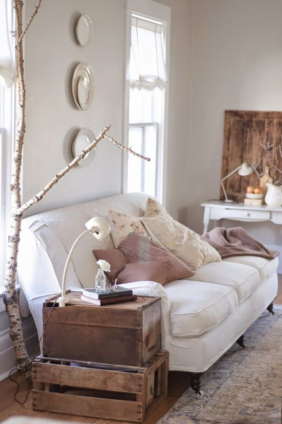 Vintage Whites Blog: An Inspirational Montana Home