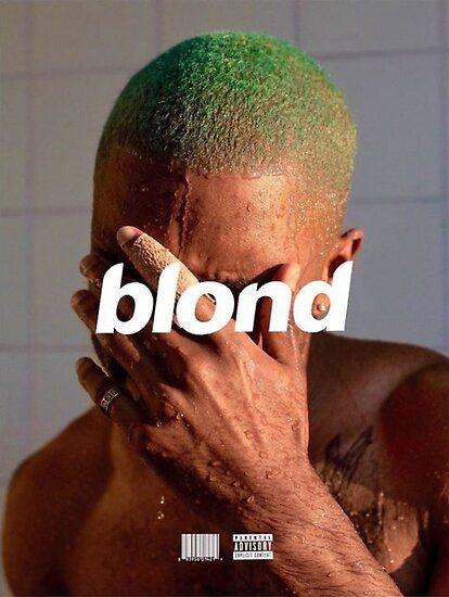 frank ocean blond poster by artismuslim