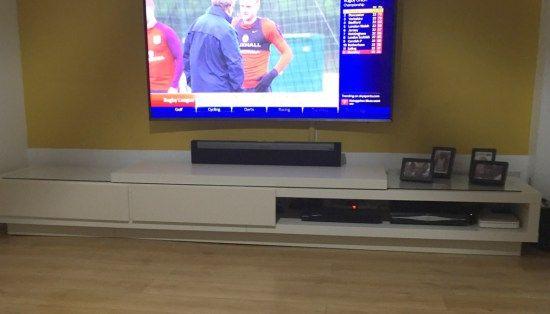 Lack Tv Stand At Twice The Length Idees Pour La Maison Meuble Tv Meuble