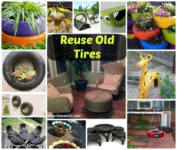 Reuse old tires reuse old tires old tires and kids play for What do you do with old tires