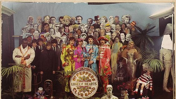 Outtakes from The Beatles' Sgt Pepper Cover shoot