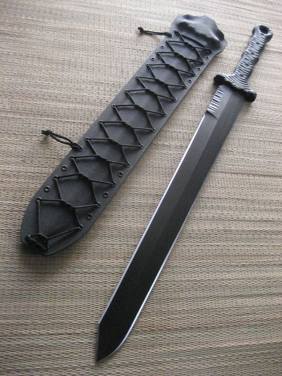 Miller Bros. Blades Custom Made M-16 Tactical  Sword.....Nice blade, not sure if its worth $1400
