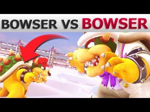 What If Bowser Fights Every Boss Super Mario Odyssey