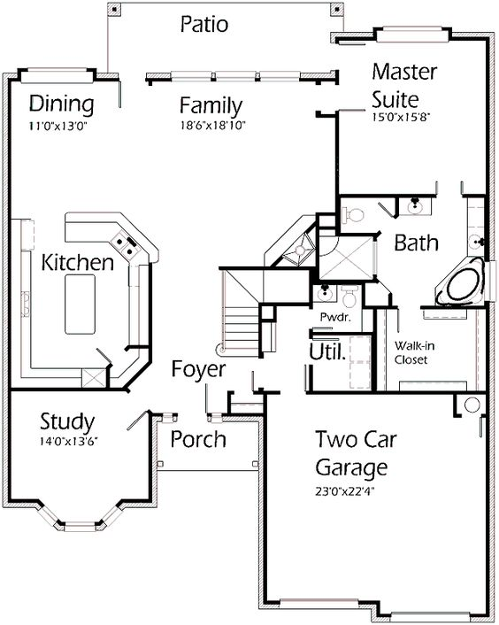 2530 sf 2 stories house plans by korel home designs for House plans by korel home designs