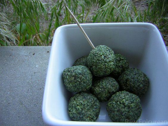 Broccoli Bites | Raw Vegan Recipe
