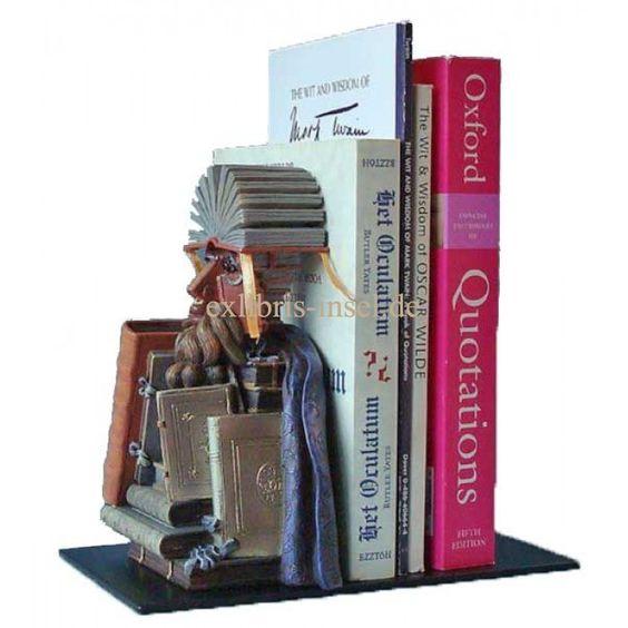 Buchstützen : Buchstütze Bibliothekar