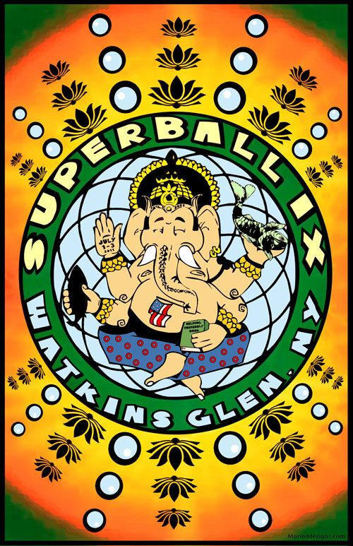 Phish superball IX  I wish I could have been there.