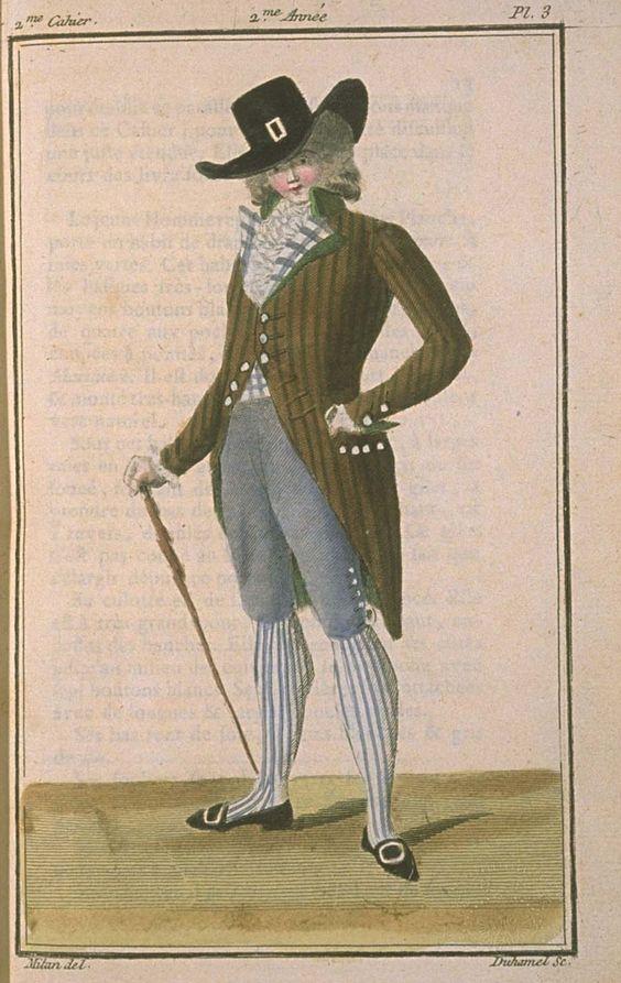 Magasin des Modes, November 1786.: