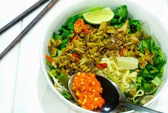 Resep Mie Cakalang Manado Resep Resep Makanan Mie