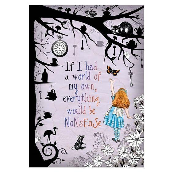 Gorgeous Alice in Wonderland art print