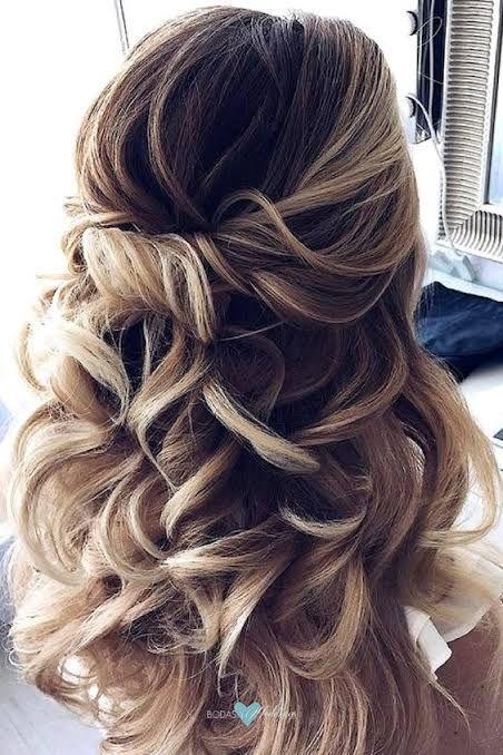 23 Peinados semirecogidos