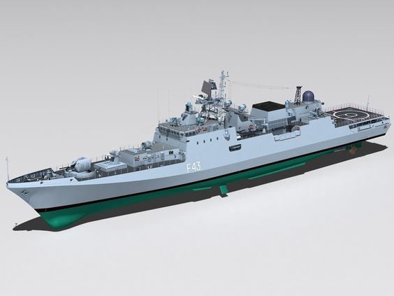Russia in talks with India to sell three Project 11356 frigates: