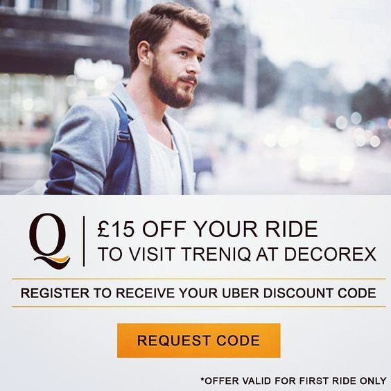 Set out on your #design adventure with @treniq_worldwide! We are at one of the most luxurious #exhibitions of the #designindustry @decorex_international! Come join us in our mission to simplify #digital #sourcing of #furniture! Register with @treniq_worldwide and get 15 off your @uber  ride to visit Treniq at Decorex International ! Register now on treniq.com !  #decorex #interiors #tradeshows #designshows #homedecor #decorshows #LDF #decorex2016 #london #uber #syonpark #design…
