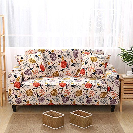 Amazon Com Forcheer Stretch Couch Covers Sofa Slipcovers Fitted