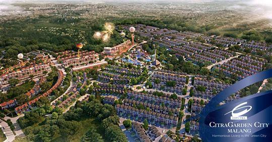 Malang Citra Garden City Citragarden City Malang Proyek