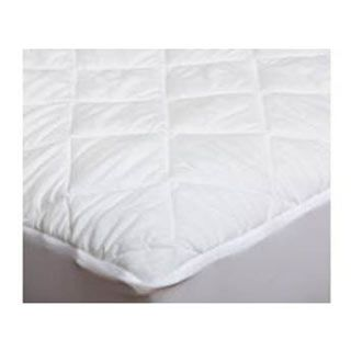"""Martex Silent Choice Quilted Waterproof Mattress Pad is ideal for using to help keep spills and accidents from reaching the mattress. Polyester Microfiber Top for comfort. Filled with 5.5oz. Polyester fiberfill. Soft and silent fabricated vinyl moisture barrier. Fitted Smooth Flex expandable stretch skirt fits up to 14"""" mattress. Easy care, Machine Wash and Dry."""