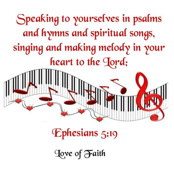 Image result for Ephesians 5:19