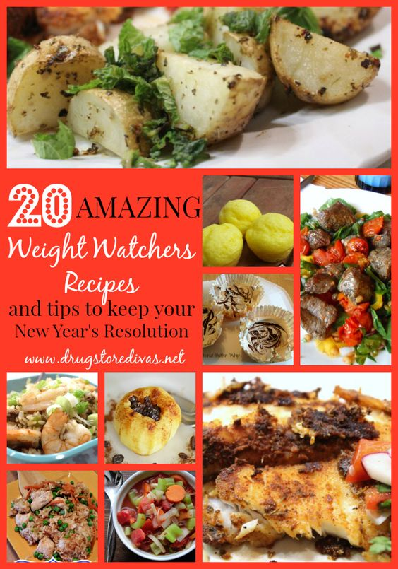 Is healthy eating your New Year's resolution? Get Weight Watchers Recipes and tips from www.drugstoredivas.net.