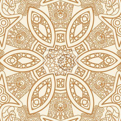 papier peint motif ethnique d 39 ornement ornement. Black Bedroom Furniture Sets. Home Design Ideas