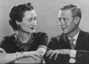 L'amore di un Re: il matrimonio tra Edoardo VIII e Wallis Simpson I don't ever get this match, but amour amour amour.