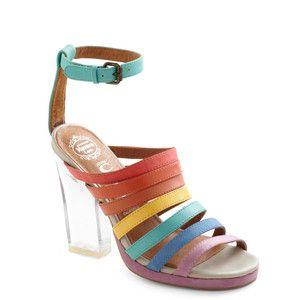 Jeffrey Campbell Rainbow Where You Please Heel