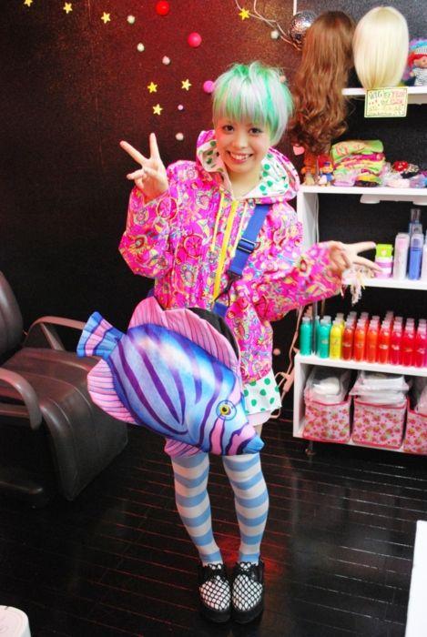 Harajuku Dyed Hair And Kawaii Cute On Pinterest