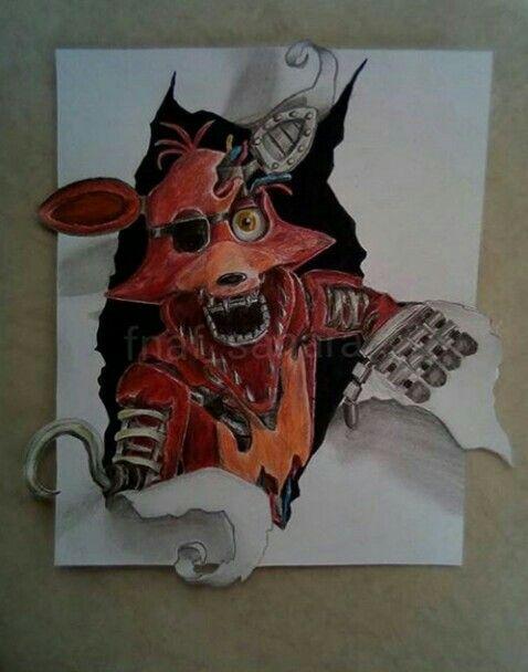 Whitered Foxy Fnaf Dibujos Como Dibujar A Freddy Dibujos De Foxy