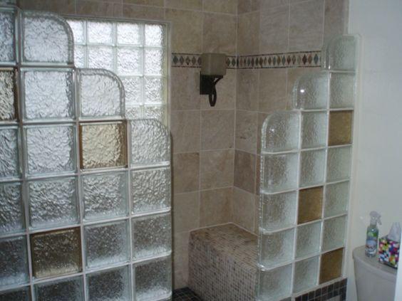 glasbausteine im badezimmer - ganz schön   bad-ideen   pinterest