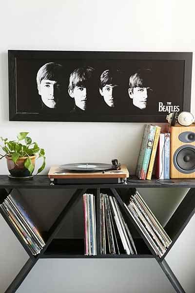 Meet The Beatles Framed Wall Art - Urban Outfitters