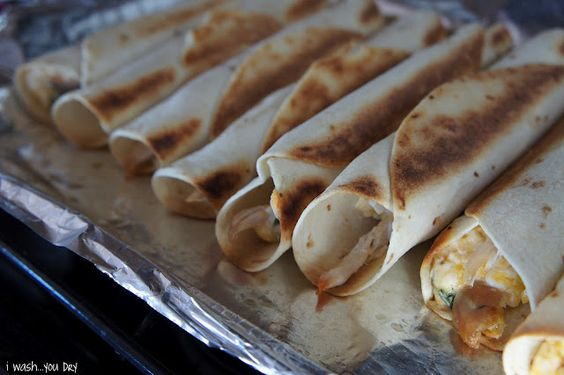 Pollo Fundido Flautas - I Wash You Dry