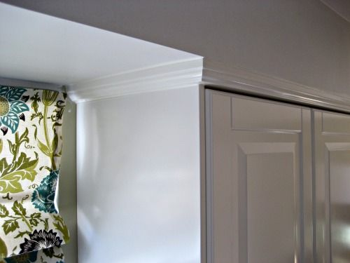 Ikea Cabinet Installation With Soffit Using Deco Strip As