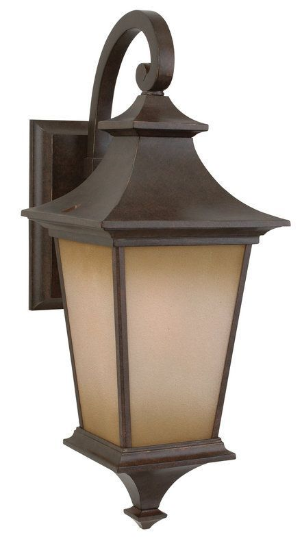 View the Craftmade Z1314 Argent 1 Light Outdoor Wall Sconce - 8 Inches Wide at LightingDirect.com.
