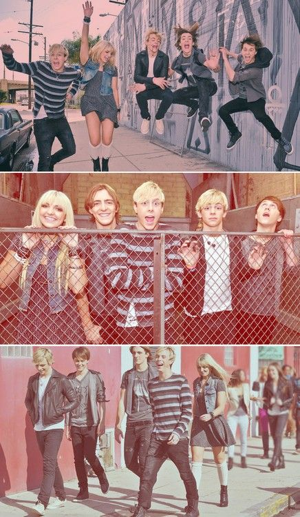 R5 during LOUD music video.