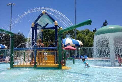 Piscina Pública De Miami Para Niños Pequeños Parque Acuatico Miami Beach South Beach Miami