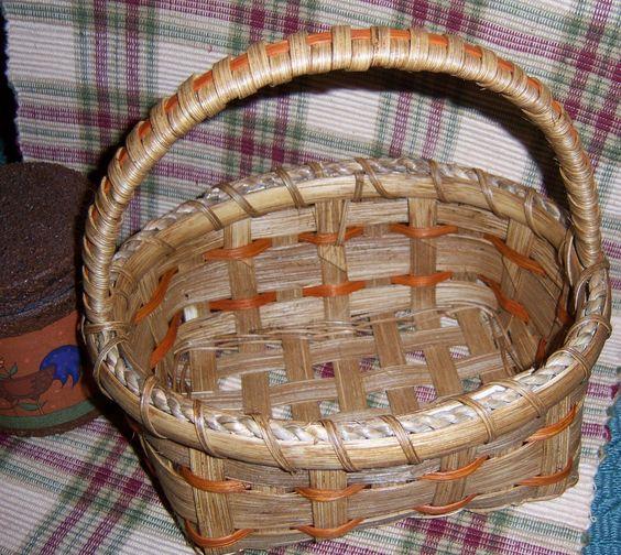 Orange Trim Basket