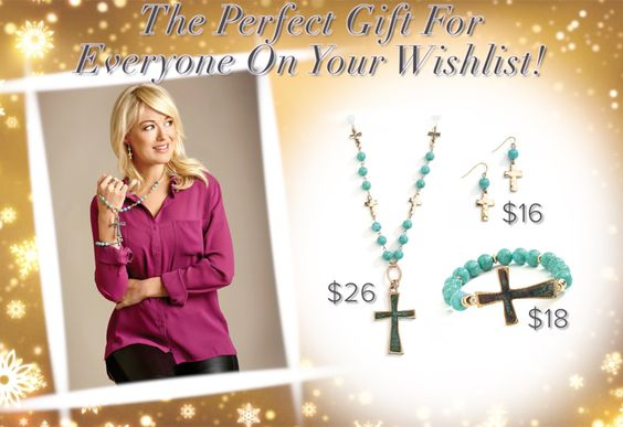Give the gift of inspiration this Christmas with Just Jewelry! Follow the link to buy these items online #justjewelry #jewelry #fashionjewelry #fashionaccessories #holiday #christmas #cross #faith