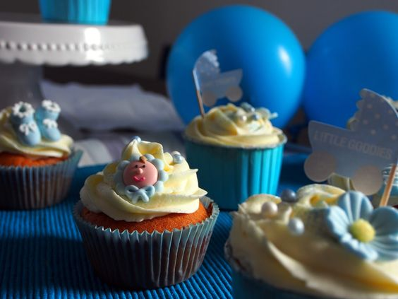 Baby Cupcakes #Baby #Cupcakes #Babyparty