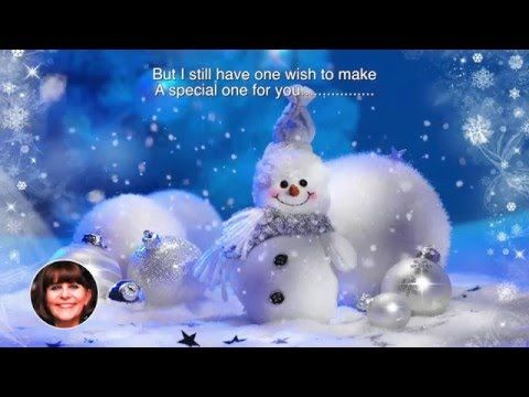 "My rendition of the beautiful Carpenters song ""Merry Christmas Darling"" mixed and produced by my hubby Stuart"