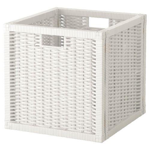 Brankis Panier Blanc 36x27x23 Cm Panier Ikea Panier Blanc