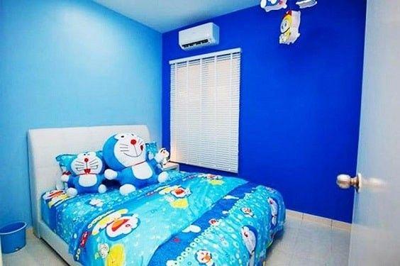 65 Gambar Kamar Minimalis Biru Doraemon Terbaik Ide Dekorasi Kamar Tidur Ide Kamar Tidur Kamar Tidur Anak Perempuan