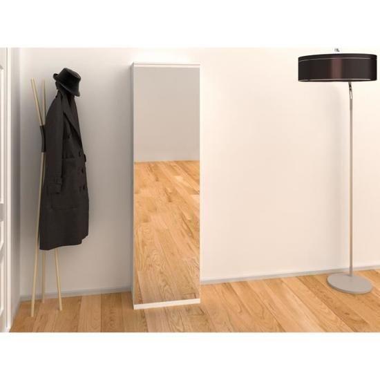 KIM Meuble à chaussures 50cm blanc Achat Vente meuble à
