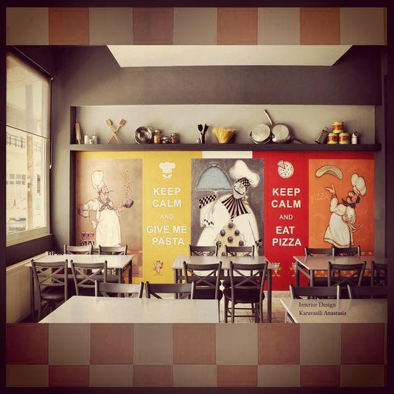 Awesome Pizzeria Interior Design Ideas Images   Home Design Ideas .