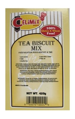 Celimix Tea Biscuit Mix - 100% Gluten-Free $6.02 - from Well.ca