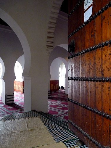 Fes, via Flickr. #mosque