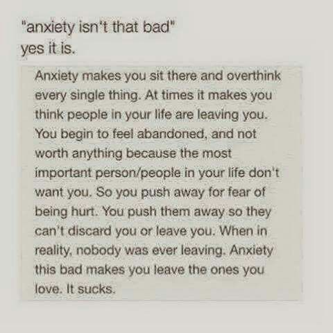 Is there such a thing as writing anxiety?