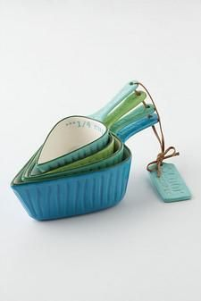 Spades Measuring Cups.: Anthropologie Spades, Kitchen Gadgets, Anthropologie Measuring, Spade Measuring, Cups Anthropologie, Measuring Spoons, Spades Measuring, Measuring Cups